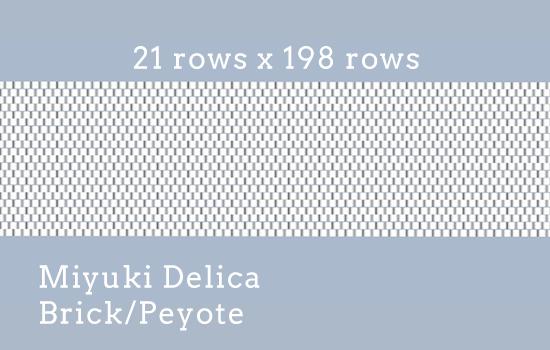 21 rows x 198 rows, Delica