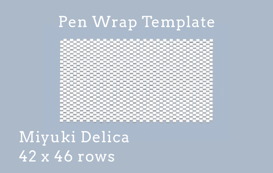 Pen wrap template